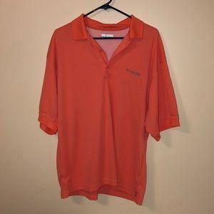 Columbia short sleeve pfg shirt